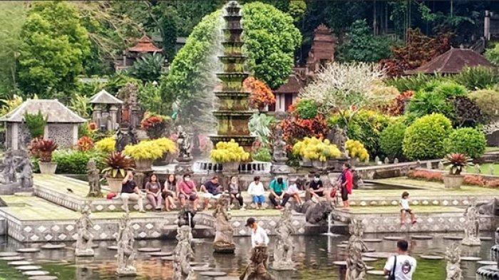 Kunjungan Wisatawan ke Taman Tirtagangga Karangasem Meningkat, Diduga karena Ini
