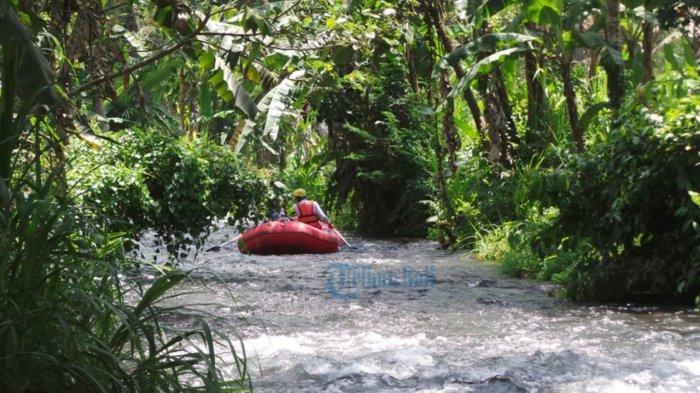 Wisata Bahari Rafting Sekitar Sungai Tlaga Waja Karangasem Mulai Dibuka