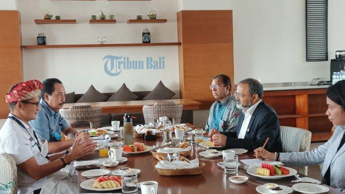BREAKING NEWS - Menparekraf Lakukan Pertemuan dengan Dubes India, Bahas Kerjasama Travel Corridor