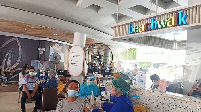 Guna Mencapai Herd Immunity Covid-19, Salah Satu Shopping Mall di Kuta Bali Gelar Program Vaksinasi