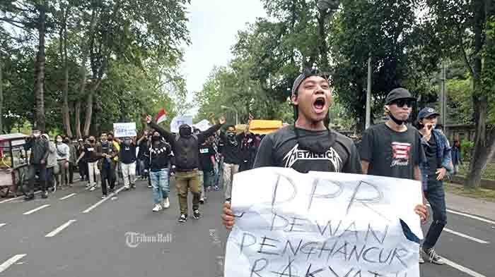 Suarakan Penolakan Omnibus Law, 'Aliansi Bali Tidak Diam' Bakal Turun ke Jalan Lagi Besok