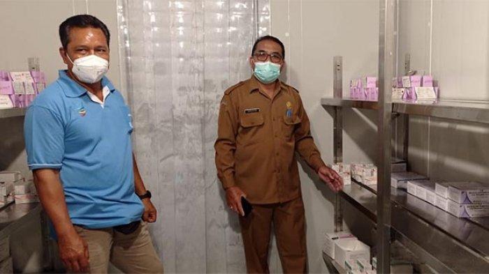 Cold Room Dinkes Tabanan Siap Tampung Vaksin Corona, 2.206 Nakes Sudah Terdaftar Terima Vaksin