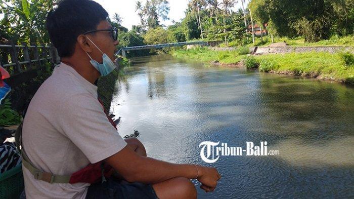 Tak Hanya Akses Penghubung, Jembatan Tukad Pakerisan Gianyar Kini Dimanfaatkan untuk Berjualan