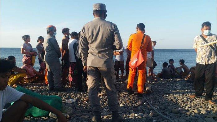 Nengah Ardana dan Seorang WNA Ditemukan Selamat Setelah Terombang-ambing di Perairan Karangasem Bali