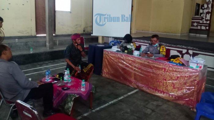 Mobilitas Masyarakat Tinggi, Kendala Desa Banjar Anyar Tabanan Turunkan Kasus Positif Covid-19