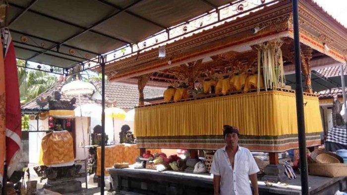 Antisipasi Maling, Banjar Banda Gianyar Bali Pasang CCTV di Pura Penataran