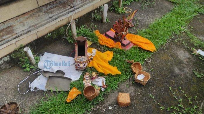 Kasus Pencurian di Tempat Suci Masih Buram, Polres Tabanan Minta Bantuan Polda Bali