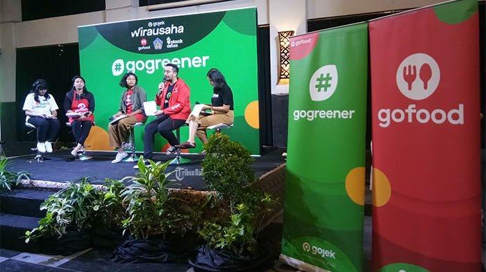 Gojek KembaliAjak Mitra Merchant Kuliner untuk Terapkan Praktik Bisnis Ramah Lingkungan