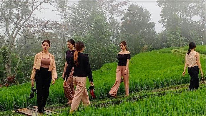 Fashion Show Digelar Pertama Kali di DTW Jatiluwih, Hasil Penjualan Modis Fashion Bali untuk Charity