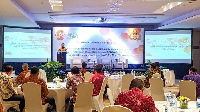 Perkuat Penegakan Hukum dalam Penanganan Kasus Perbankan, LPS Gelar Sosialisasi kepada Polri di Bali