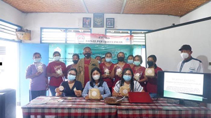 Kegiatan PKM Bangkitkan Ekonomi Warga Tabanan Lewat Produksi Dodol & Pemanfaatan Limbah Kulit Jagung