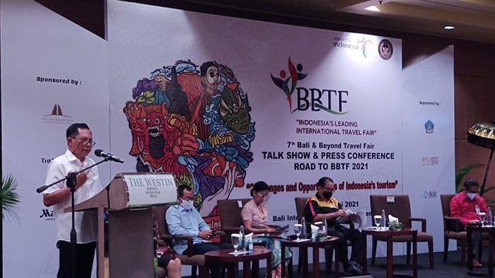 Tantangan dan Kesempatan Dunia Pariwisata di Masa Pandemi Jadi Pembahasan Road to BBTF 2021 di Bali