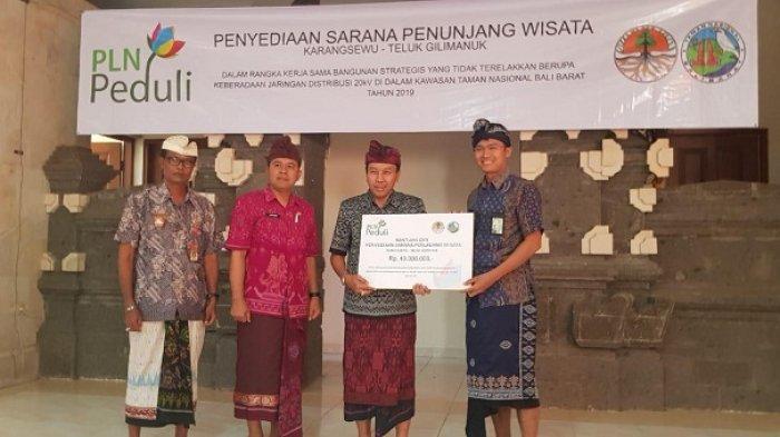 PLN Bantu Pengelolaan Kawasan Wisata Karangsewu, Gilimanuk