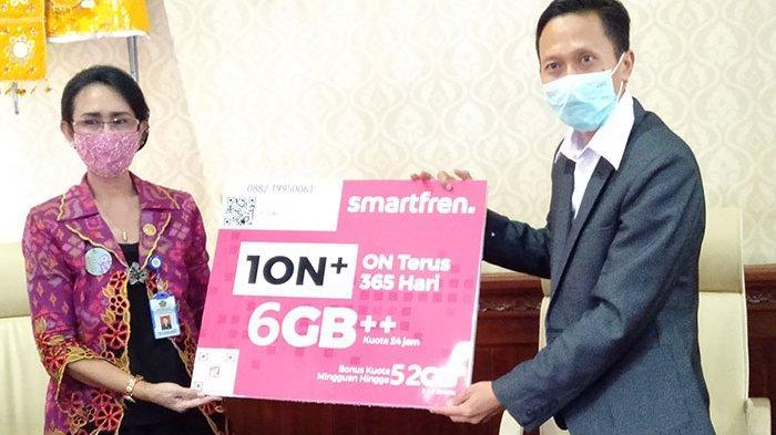 Smartfren Kerjasama dengan Kemenag Bantu Sekolah Madrasah di Bali Beri Kuota Internet Gratis