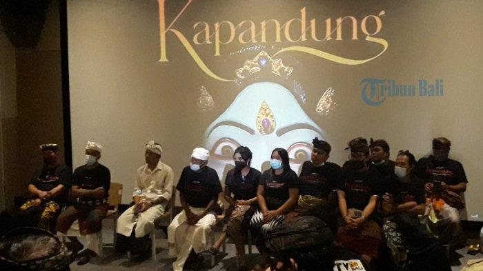 Seniman Bali Berperan dalam Film Kapandung, Agung Ocha Dianti Terus-terusan Menangis