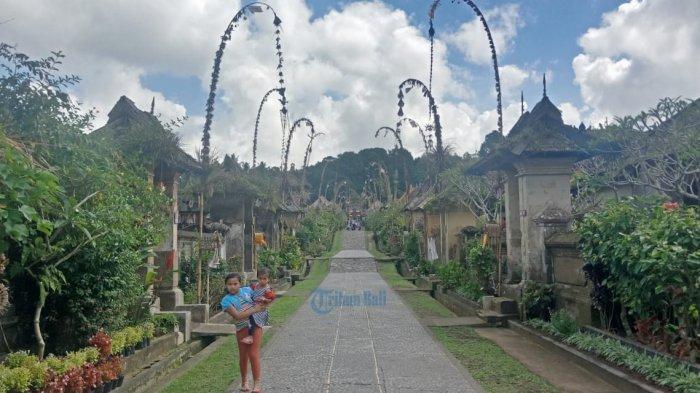 Mulai Hari Ini Objek Wisata Penglipuran Bangli Tidak Menerima Kunjungan Wisatawan