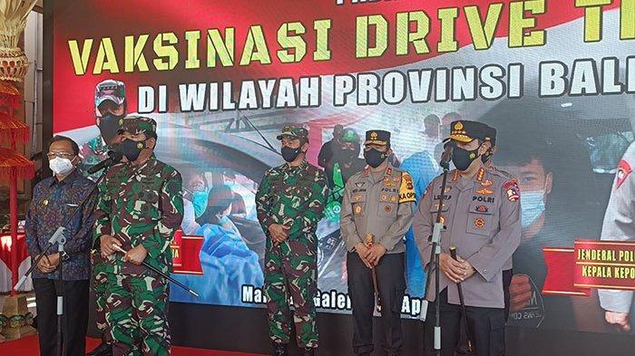 Panglima TNI dan Kapolri Atensi Vaksinasi Massal Covid-19 di Bali untuk Percepat Pemulihan Ekonomi