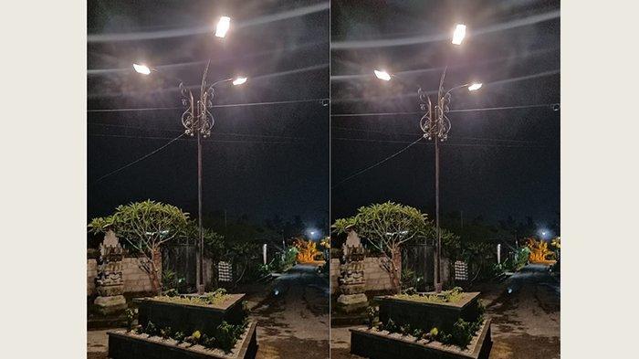 Lingkungan Banjar 'Peteng Dedet' Warga di Ubud Pasang Lampu secara Swadaya