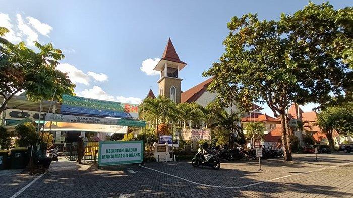 Di Komplek Puja Mandala Bali,Shalat Id Digelar Pagi & Gereja Gelar Ibadah Kenaikan Isa Al-Masih Sore