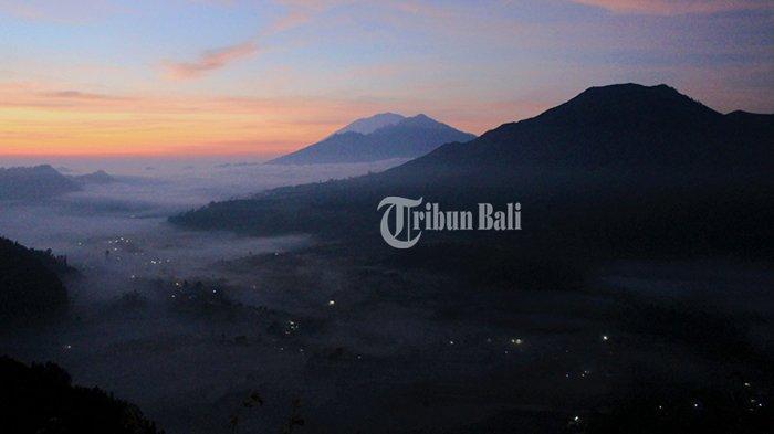 Nikmati Matahari Terbit dari Desa Pinggan Tanpa Perlu Naik Gunung