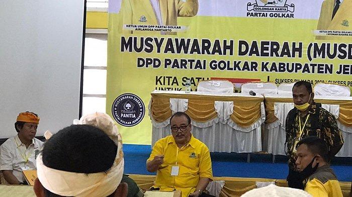 Terjadi Keributan & Kericuhan Antar Kader, Musda Golkar Jembrana Akhirnya Ditunda