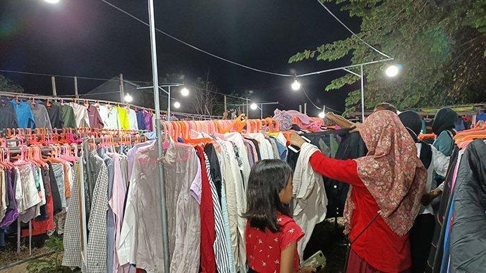 Jelang Hari Raya Idul Fitri, Penjualan Pakaian Bekas Impor di Denpasar Meningkat