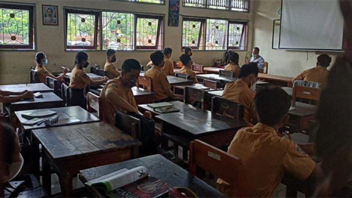 Pasca 2 Siswa SMAN 1 Tabanan Positif Covid,Disdik Tak Lakukan Screening karena Bukan Klaster Sekolah