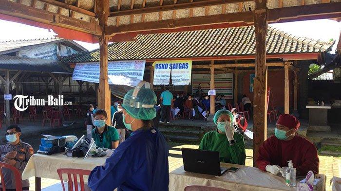 Vaksinasi Kawasan Zona Hijau Tabanan Dilakukan di Setiap Banjar, Target Tuntas 22 April 2021