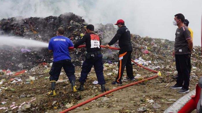TPA Sente Kembali Terbakar, Seluruh Desa di Klungkung Diminta Percepat Realisasi TOSS Desa