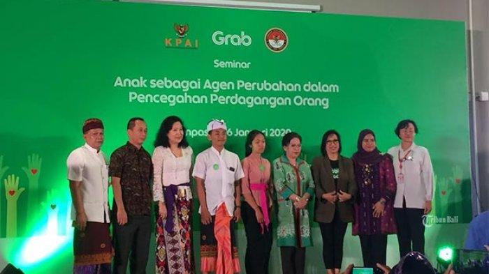 Peran Adat Penting Cegah TPPO di Bali, Grab Dukung Program KPAI dan LPSK Cegah Perdagangan Orang