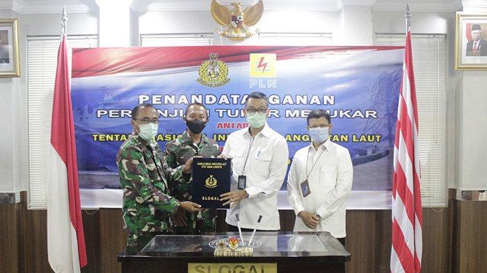 PLN dan TNI AL Tandatangani Perjanjian Tukar Menukar Tanah BMN seluas 12.000 M²