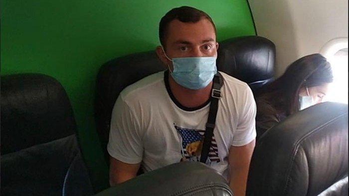 Seorang WNA Rusia Pelanggar Protokol Kesehatan Jalani Proses Deportasi Malam Ini