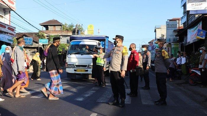 Pengamanan Sholat Idul Fitri 1442 H, Polres Tabanan Terjunkan 173 Personel dan Libatkan Pecalang
