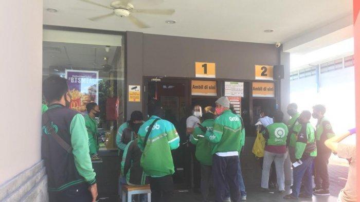 Saking Ramainya Pemesan The BTS Meal, Driver Ojol di Denpasar Ini Sampai Matikan Aplikasinya