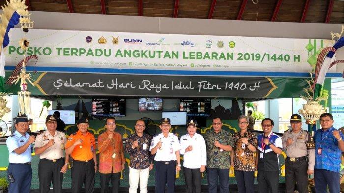 Bandara Ngurah Rai Layani 1,09 Juta Penumpang Selama Posko Lebaran 2019