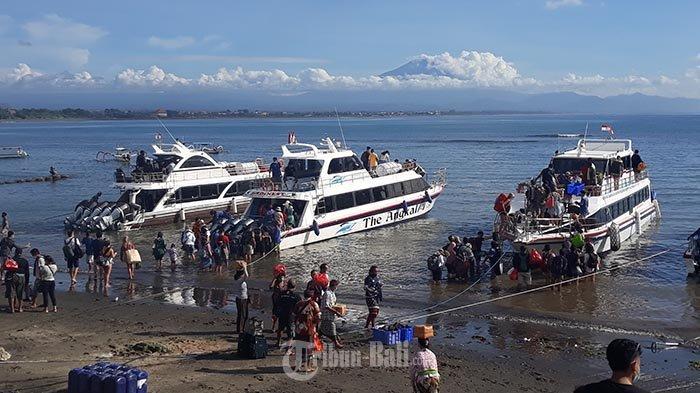 Aktivitas Penyeberangan Sanur ke Nusa Nusa Penida dan Lembongan Meningkat Hingga 50 Persen