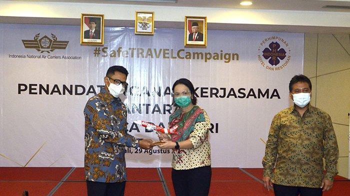 Dukung Peningkatan Kunjungan Wisatawan Domestik, PHRI Jalin Kerjasama dengan INACA