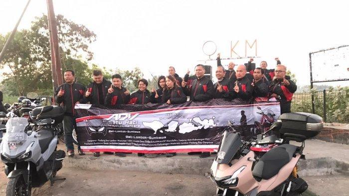 Touring ADV Satu Hati Jelajah Nusantara Berakhir di Titik 0 KM Sape Bima