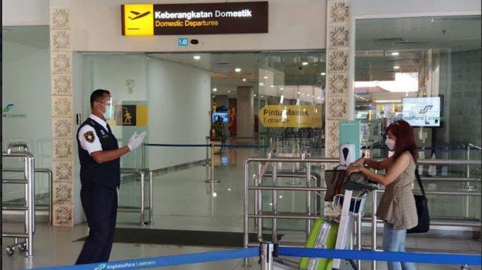 Hari Pertama Larangan Mudik 2021, Hanya Ada 13 Jadwal Penerbangan di Bandara Ngurah Rai Bali