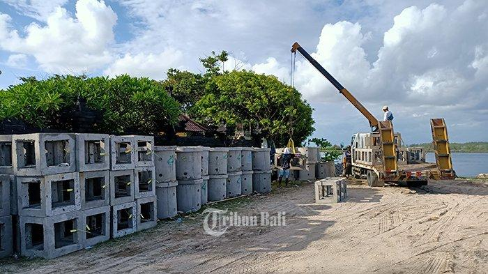 Tahap Terakhir, Restorasi Terumbu Karang di Pantai Semawang Sanur Capai 80 Persen