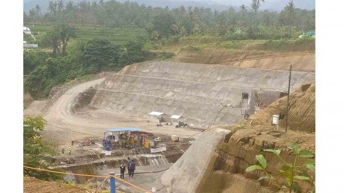 Progres Bendungan Tamblang Buleleng Capai 38 Persen, Masuki Tahap Pembuatan Sandaran dan Terowongan