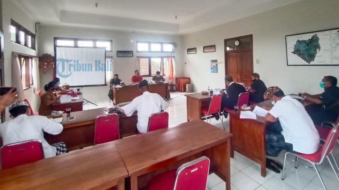 Desa Banjar Anyar Tabanan Rencana Siapkan Tempat Karantina, Camat Kediri Bahas Pelaksanaan PPKM