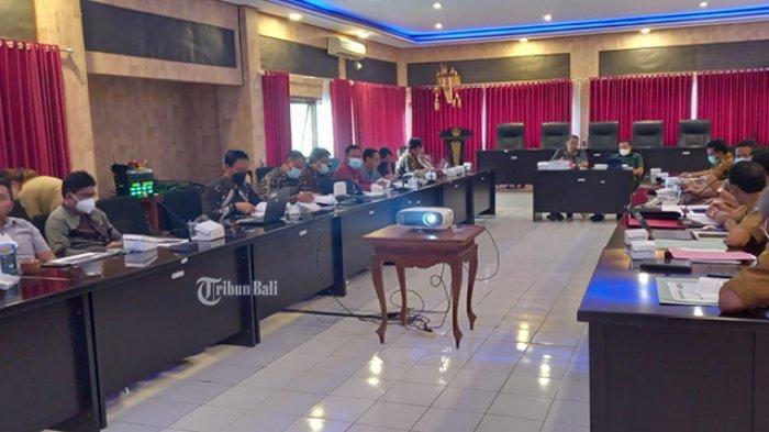 OPD Tak Siap, Rapat Paripurna Pembahasan RAPBD Bangli 2022 Batal