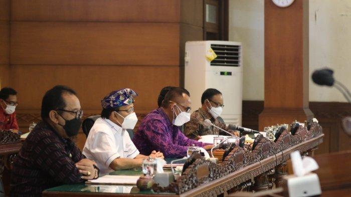Gelar Sidang Paripurna ke-19, DPRD Bali Setujui Ranperda Penggabungan OPD