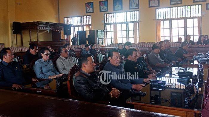 Pimpinan DPRD Bangli Akhirnya Ditetapkan, Tinggal Tunggu Jadwal Pelantikan