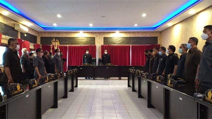 DPRD Bangli Terima Usulan 9 Ranperda dari Eksekutif