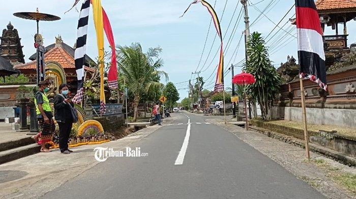 Pelanggar Didenda Dobel, Banjar Sanggulan Tabanan Ditunjuk Jadi Kampung Tertib Lalu Lintas