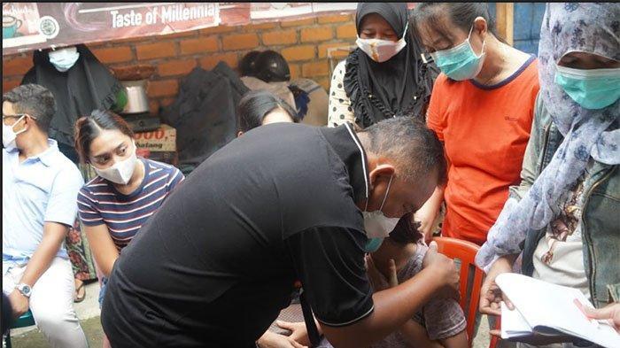 Kunjungi Korban Karamnya KMP Yunicee, Bupati Tamba Nyatakan Siap Jadikan Aurel Anak Angkatnya
