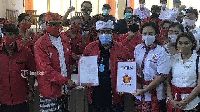 Kekuatan PDIP Bertambah, Gerindra dan PSI Tabanan Deklarasi Dukung Jaya-Wira