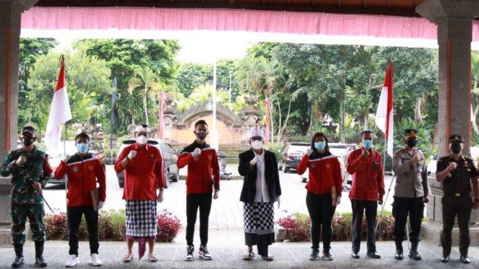 12 Atlet Tabanan Menuju PON XX Papua 2021, Bupati Tabanan Harapkan Semangat Puputan Untuk Bali
